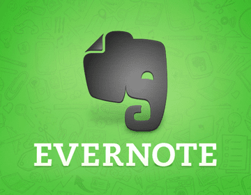 Evernote to help stay organized