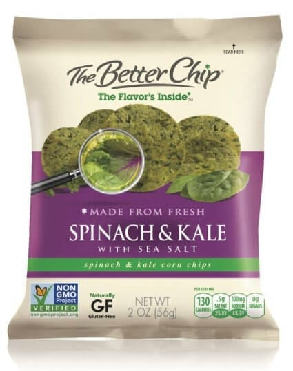 the better chip spinach and kale