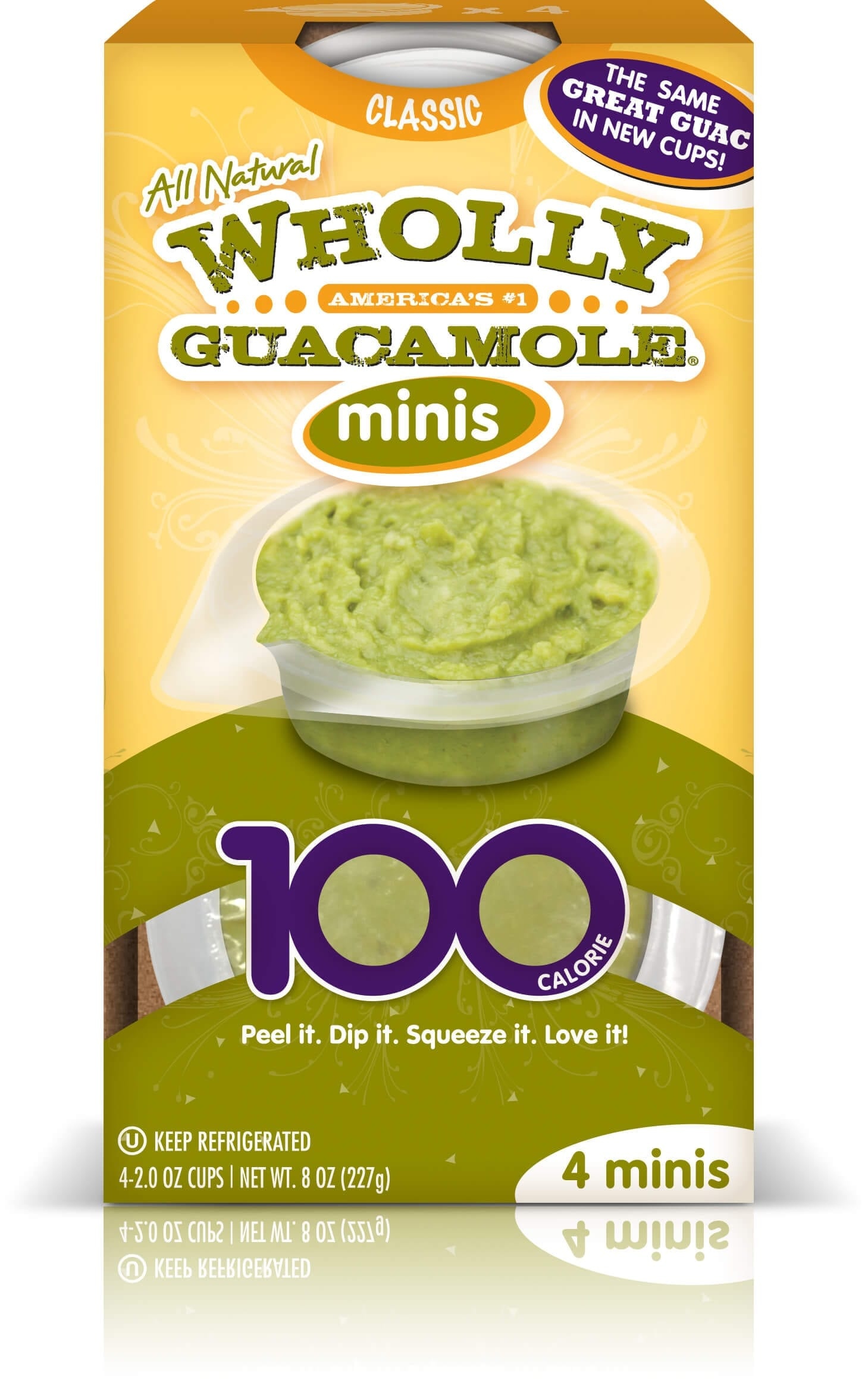 wholly guacamole avocado healthier snacks for the office