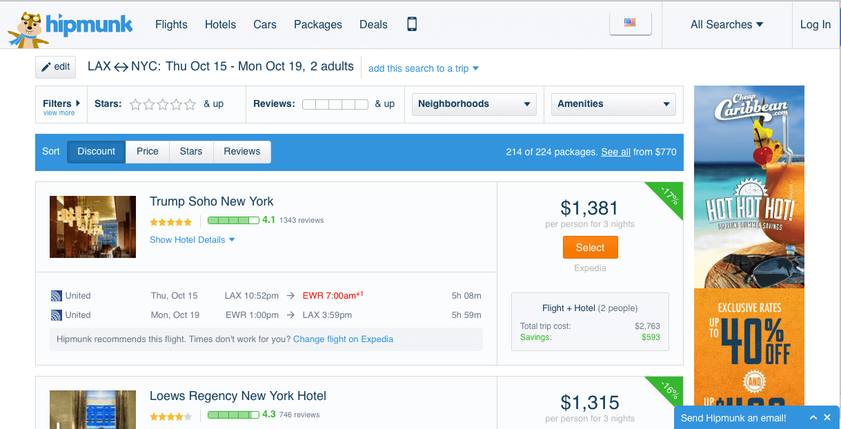 hipmunk office management tool