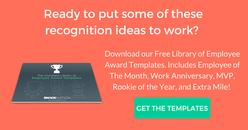 39 thoughtful employee recognition appreciation ideas for 2018