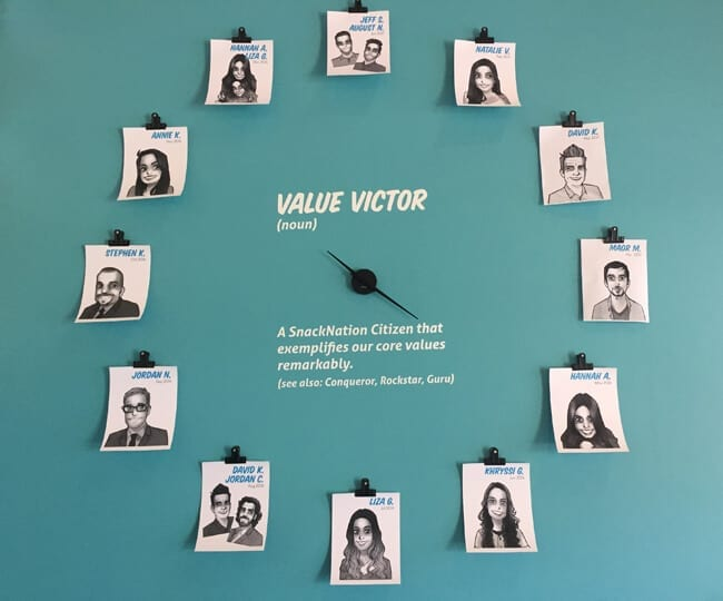 value-victor-clock