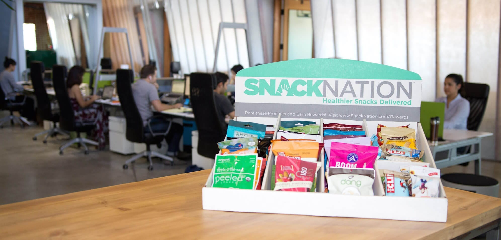 snacknation - healthy snacks for the office
