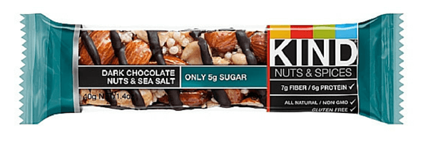 kind bar dark chocolate sea salt
