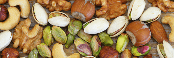 nuts - healthy snacks for the office
