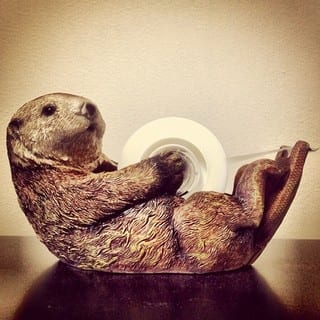 otter tape dispenser