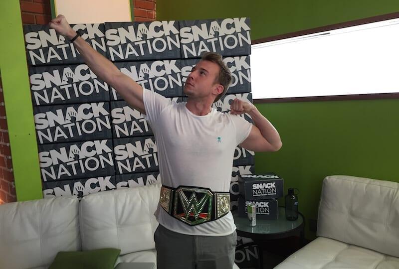 snacknation championship belt