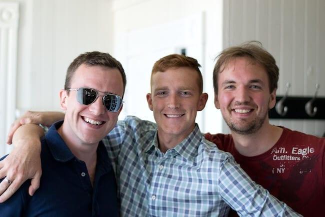 Brendan, Pete, Dan