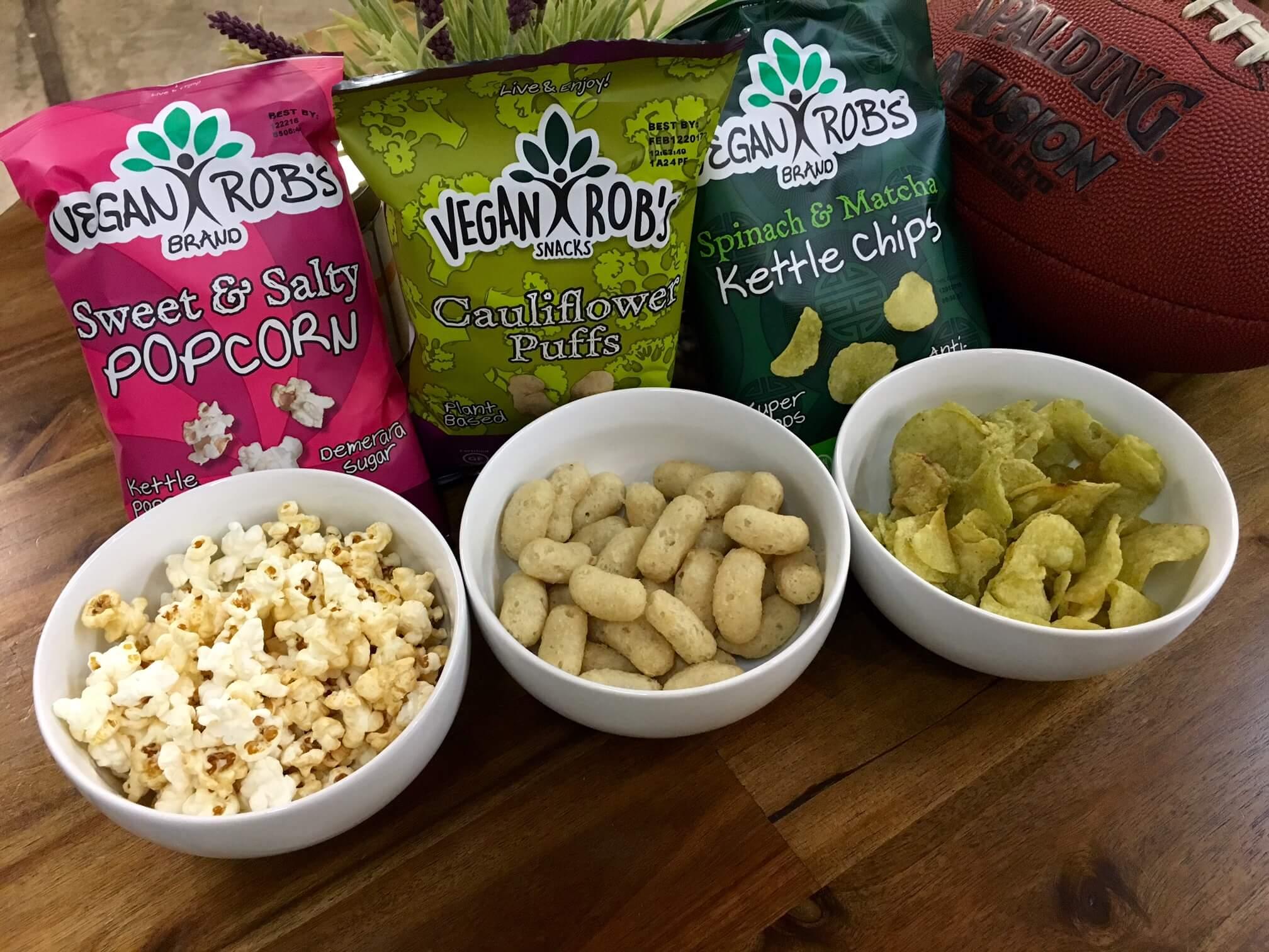 Rob's Brands Popcorn, chips & puffs