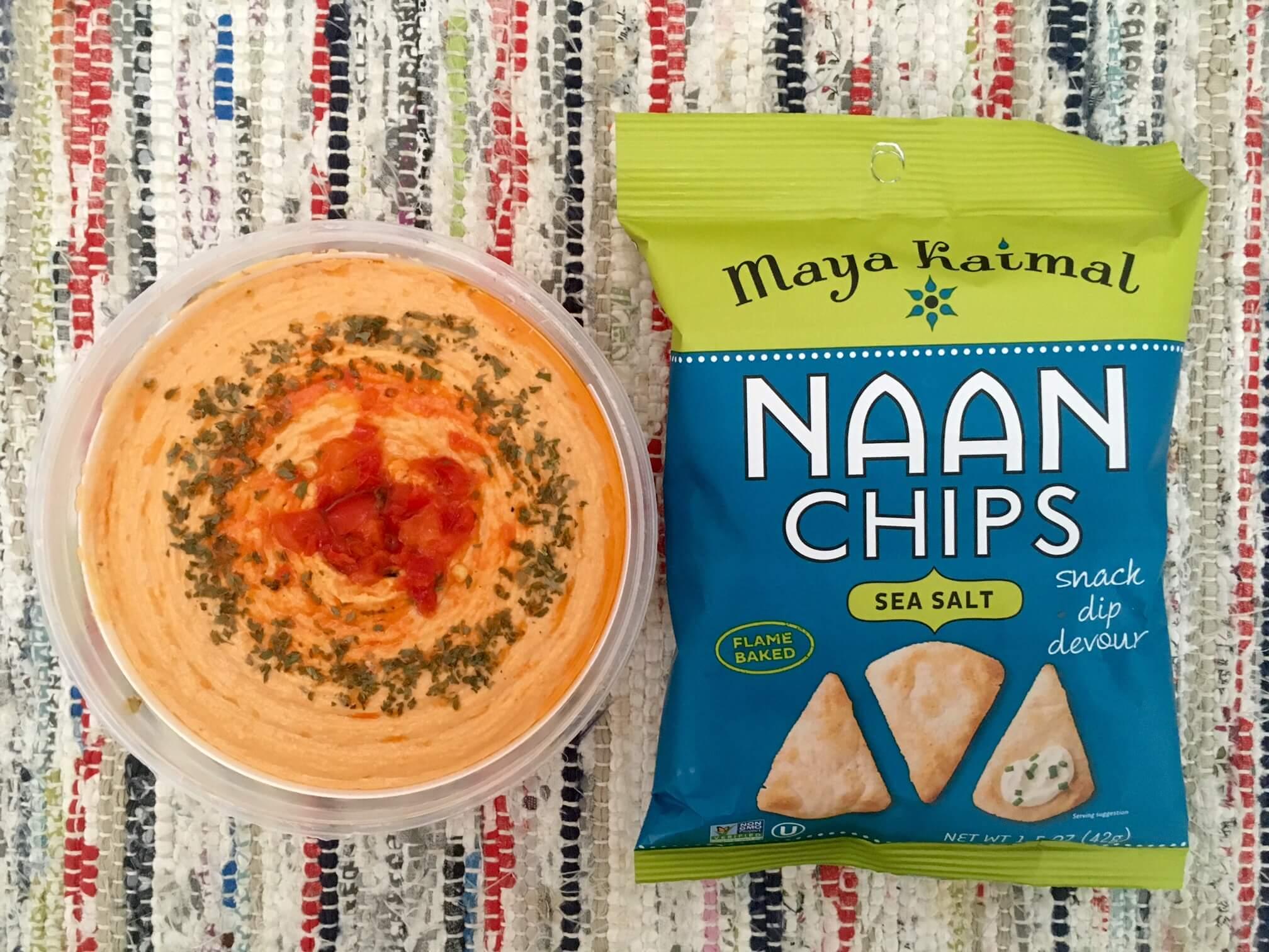Maya Kaimal Naan Sea Salt Chips