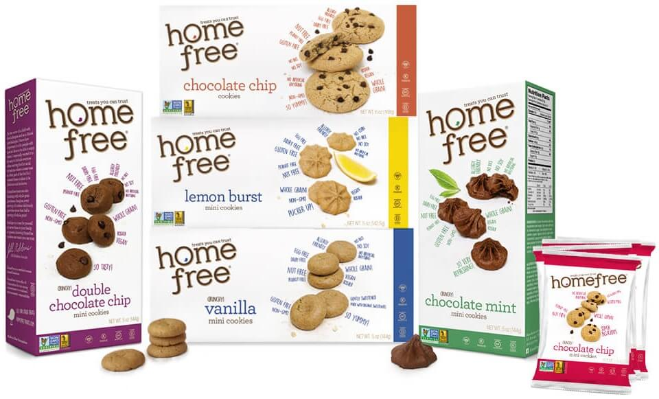 HomeFree Vanilla Mini Cookies