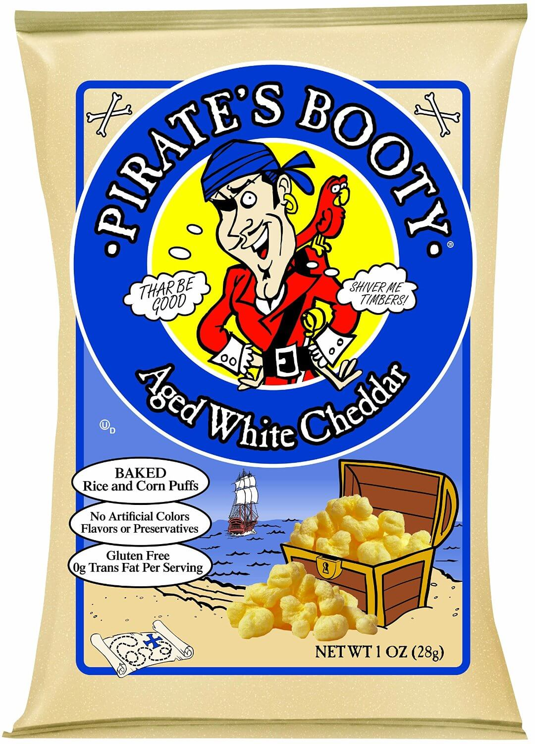 Pirate's Booty White Cheddar Rice & Corn Puffs