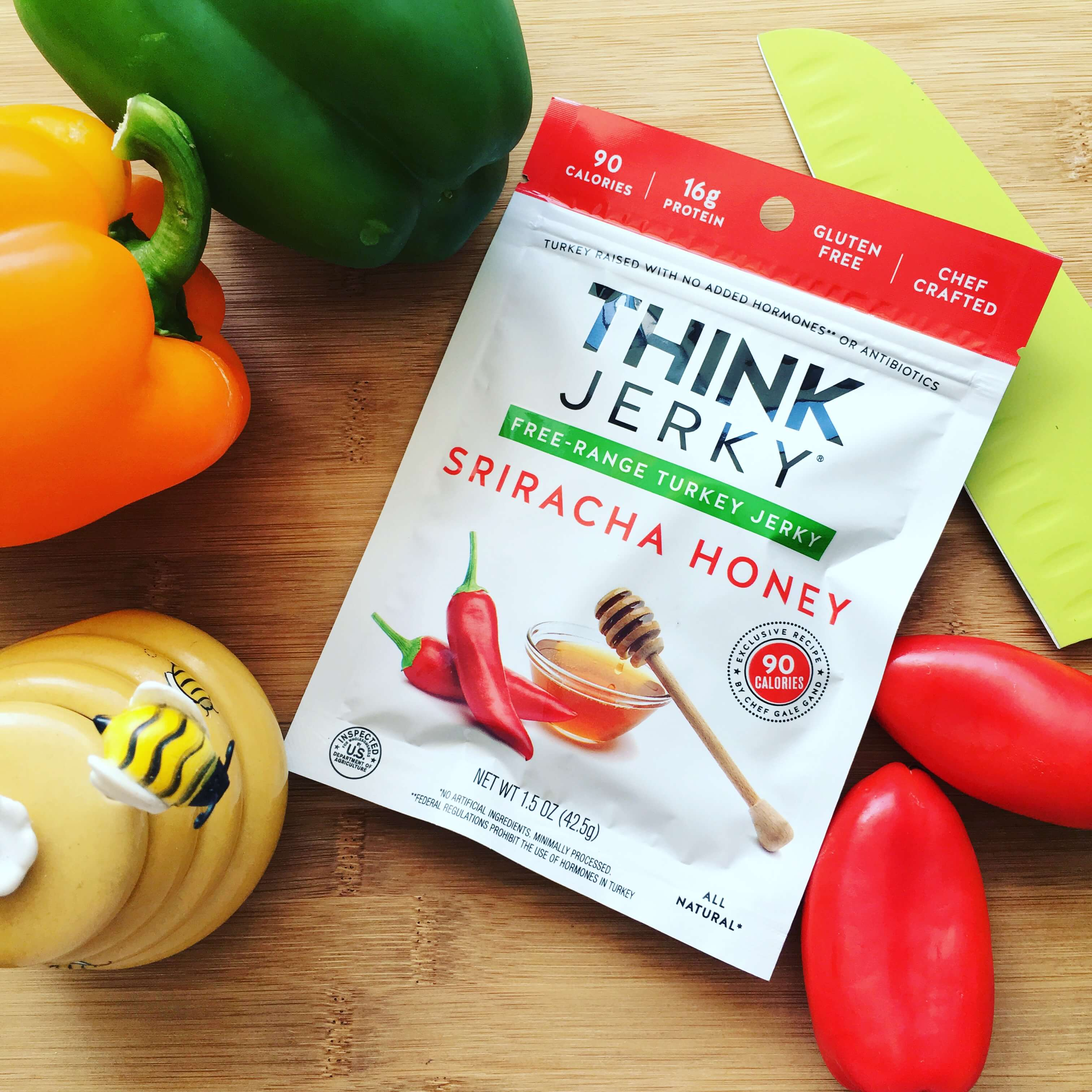 Think Jerky Sriracha Honey