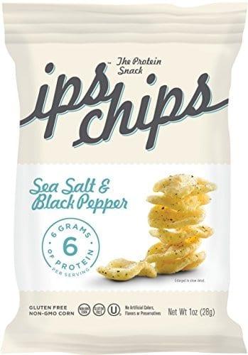 Ips Chips Natural Sea Salt & Black Pepper and Natural Cinnamon