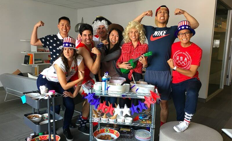 USA Themed Office Party
