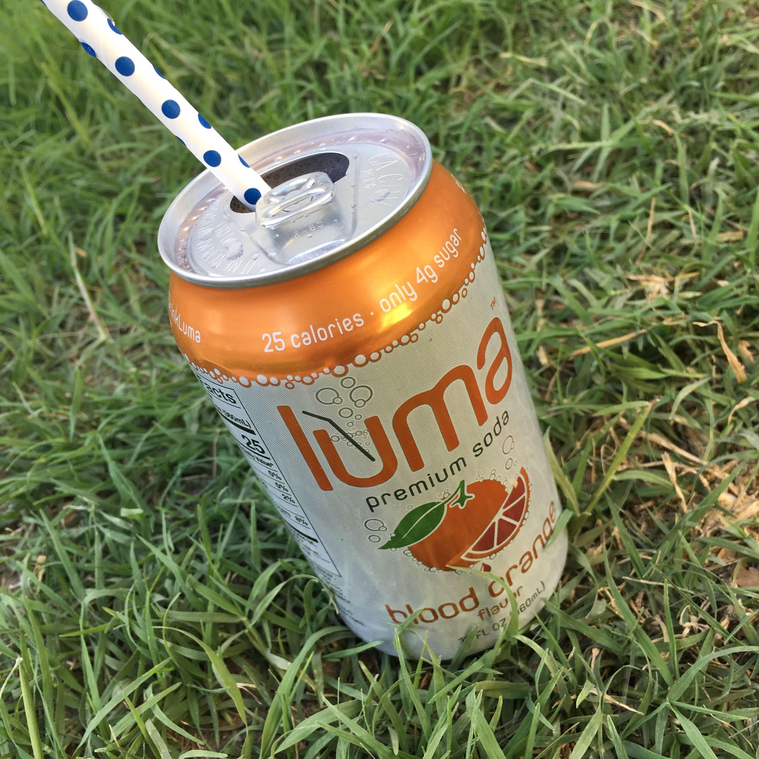 LumaTM Blood Orange Soda