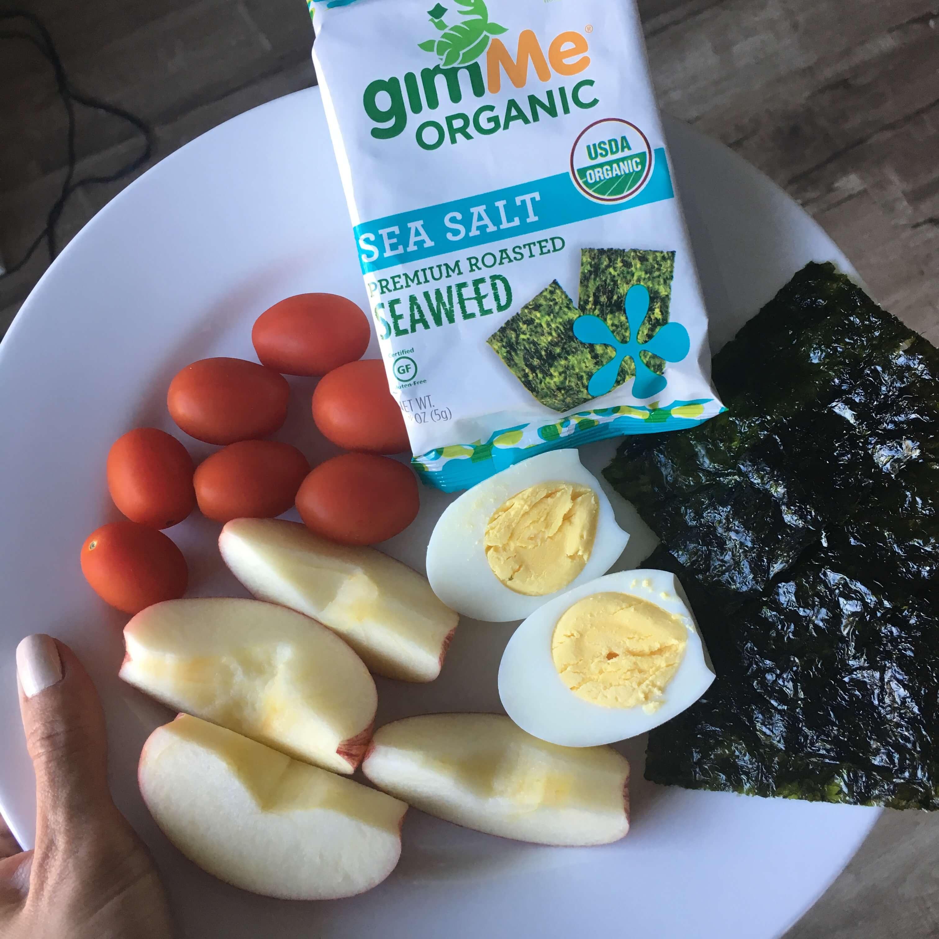gimMeⓇ Organic Roasted Seaweed - Sea Salt