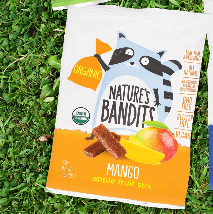 Nature's Bandits Mango Apple Fruit Stix