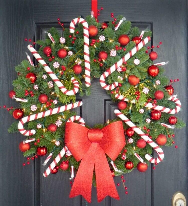 advent-wreath-itself-diy-diy-door-wreath-weihnachtsdeko-ideas