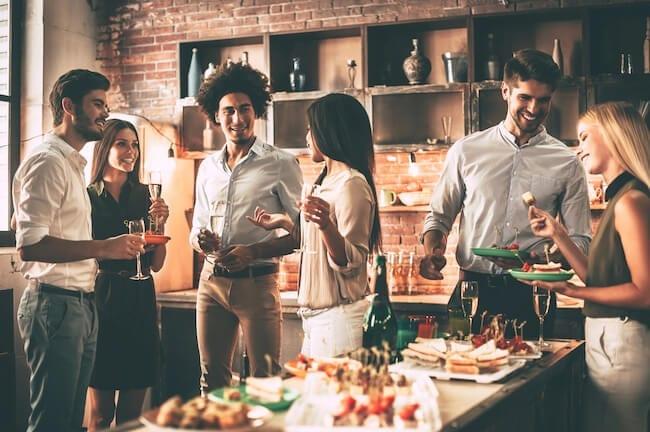work-anniversary-ideas-dinner-party