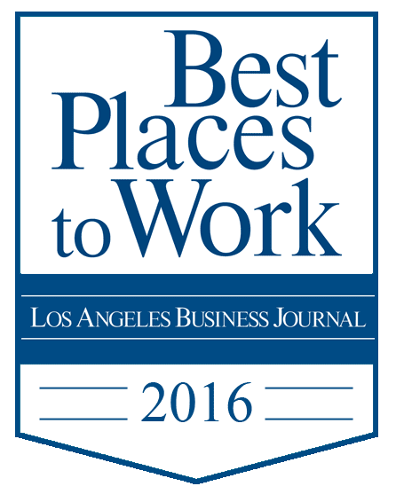 LA Business Journal Best Places to work 2016