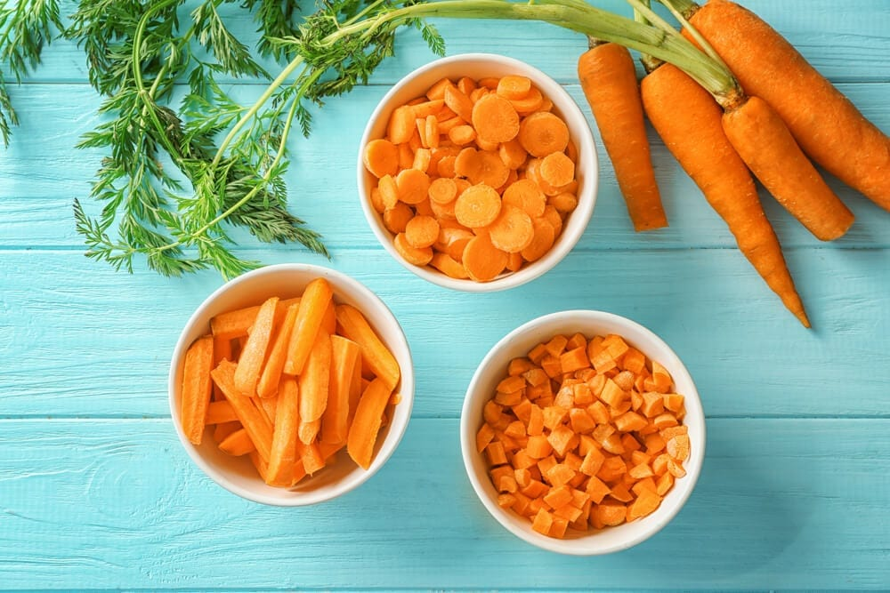 Healthy Crunchy Snacks with Carrots
