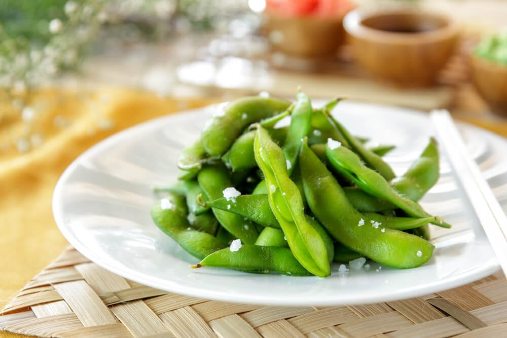 Healthy Crunchy Snacks with Edamame
