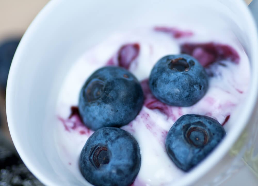 Healthy Late-Night Snacks Blueberries