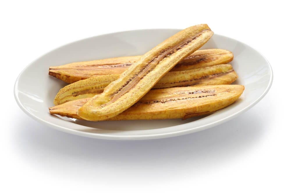 Healthy Party Snacks Plantains