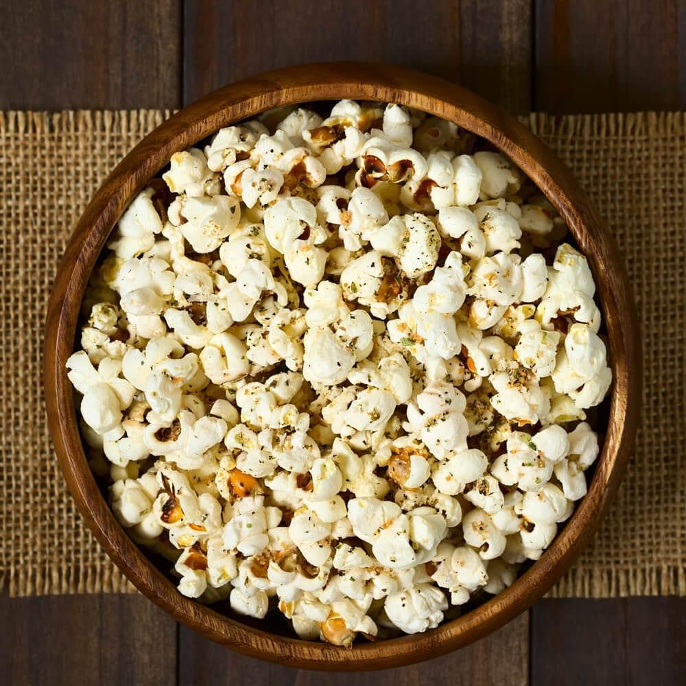 Healthy Party Snacks Popcorn