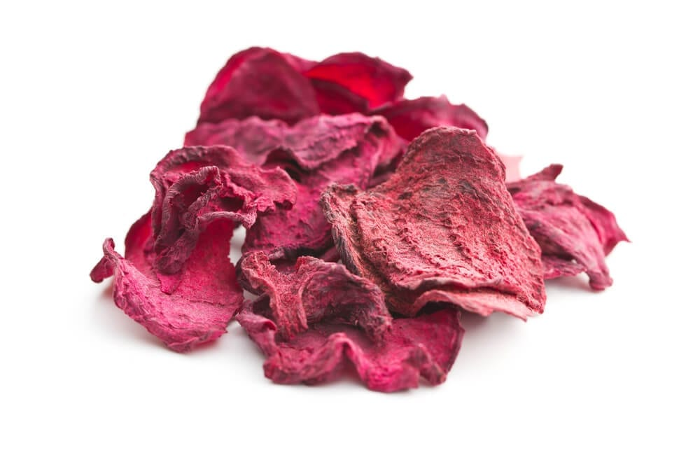 Healthy Road Trip Snacks Freeze Dried Beets