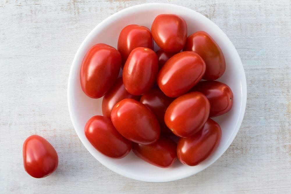 Healthy Road Trip Snacks Grape Tomatoes