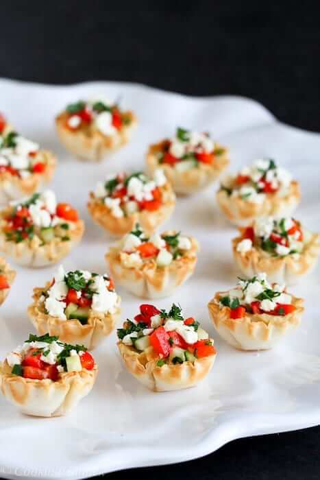 holiday party snacks