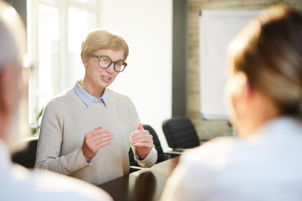 Executive Assistant interview explain concerns
