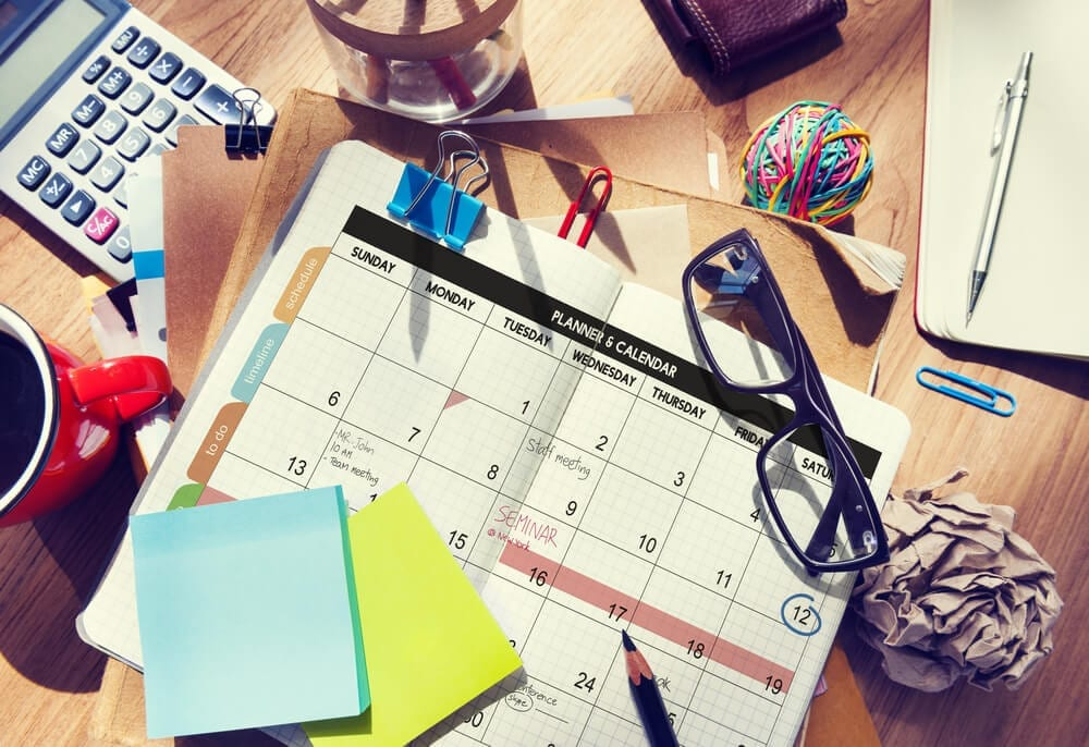 Executive assistant duties include event planning