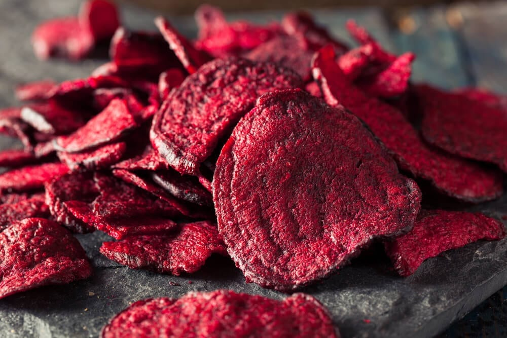 healthy snacks for work to lose weight_beet chips