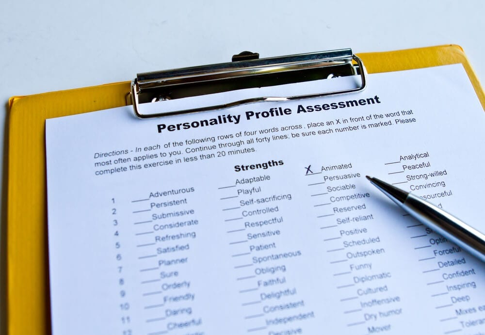 personality tests for employment