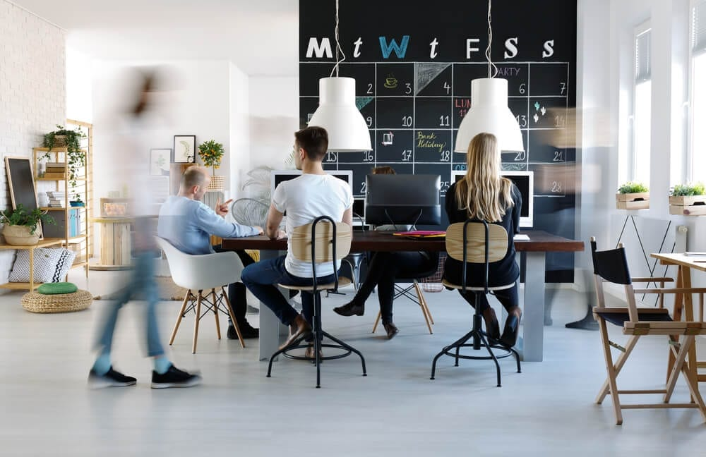 office environments drive employee engagement